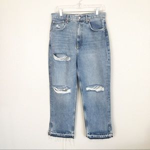 NWT Free People Jeans High Rise Cropped sz 30&31